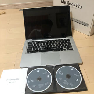Apple -  (ジャンク品)Mac Book Pro/A1278/MC375J/A