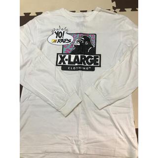 XLARGE - XLARGE × MTV  (エクストララージ エムティービー)コラボロンT