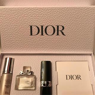 Dior - ディオール 香水 セラム リップ ミニサイズ3点 箱付きセット