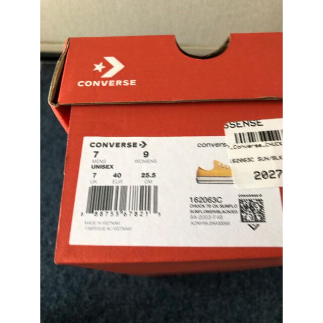 CONVERSE(コンバース)のコンバース ct70  サンフラワー メンズの靴/シューズ(スニーカー)の商品写真