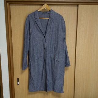 ユニクロ(UNIQLO)のユニクロ 麻×綿 ロングコート(スプリングコート)