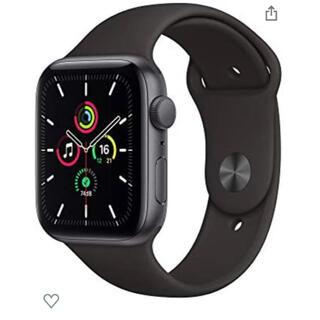 Apple Watch - 最新 Apple Watch SE(GPSモデル)- 44mmスペースグレイ