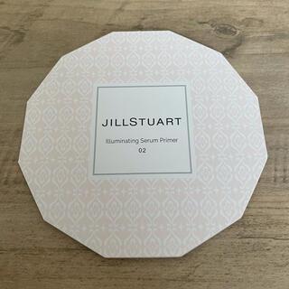 ジルスチュアート(JILLSTUART)の試供品☆ジルスチュアート イルミネイティングセラムプライマー02(化粧下地)