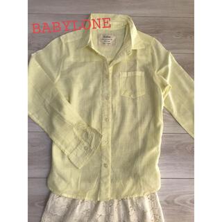 バビロン(BABYLONE)のBABYLONE コットンシャツ(シャツ/ブラウス(長袖/七分))
