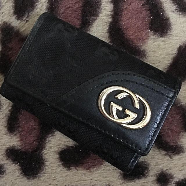 Gucci(グッチ)のグッチ キーケース 黒 メンズのファッション小物(キーケース)の商品写真