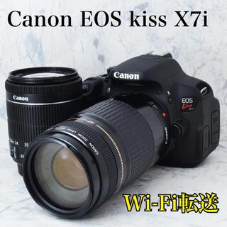 Canon - ビギナー向け●STMレンズ●Wi-Fi転送●キャノン EOS kiss X7i