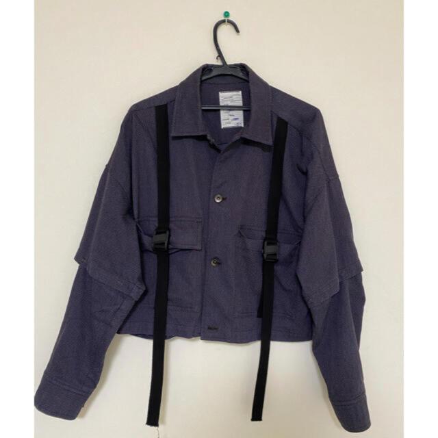 SHAREEF(シャリーフ)のshareef short shirt blouson メンズのジャケット/アウター(ブルゾン)の商品写真