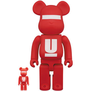 UNDERCOVER - BE@RBRICK UNDERCOVER LOGO 100% & 400%