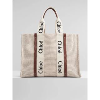 Chloe - Chloe クロエ woody Lサイズ トートバッグ