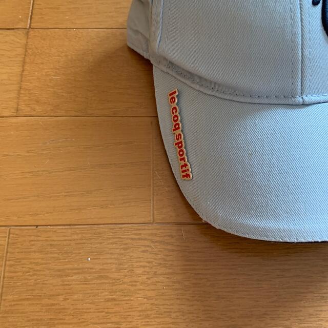 le coq sportif(ルコックスポルティフ)のルコックゴルフ帽子新品未使用 スポーツ/アウトドアのゴルフ(ウエア)の商品写真