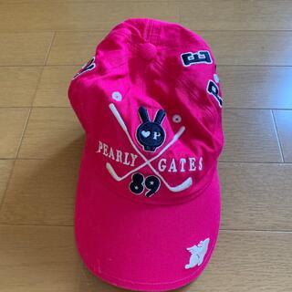 パーリーゲイツ(PEARLY GATES)のパーリーゲイツゴルフ帽子(ウエア)