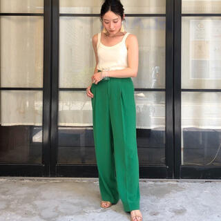 TODAYFUL - 【新品】TODAYFUL Georgette Rogh Trousers(36)