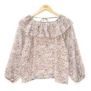 フラワー(flower)のfully bloom blouse (シャツ/ブラウス(長袖/七分))