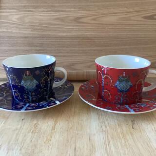 イッタラ(iittala)の 極美品 イッタラ アラビア コーヒーカップ 2点セット(食器)