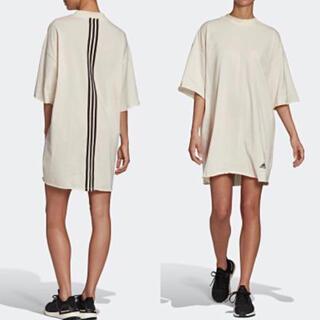 adidas - 新品 adidas オーバーサイズ Tシャツ ワンピース ゆったりマタニティ