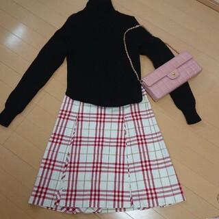 バーバリー(BURBERRY)のBURBERRY バーバリーロンドン スカート size36(ひざ丈スカート)