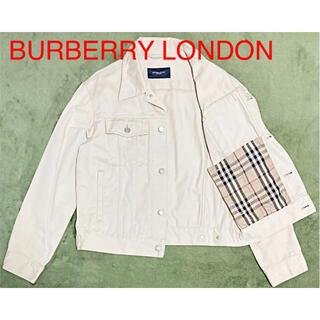 バーバリー(BURBERRY)の【タグ付】BURBERRY LONDON バーバリー ジャケット ノバチェック(Gジャン/デニムジャケット)