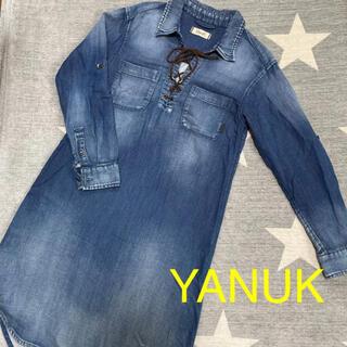 YANUK - デニムワンピース YANUK/ヤヌーク