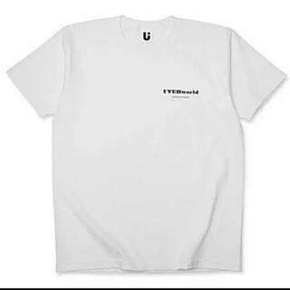 UVERworld MADE IN JAPAN Tシャツ 白 ホワイト Lサイズ(Tシャツ/カットソー(半袖/袖なし))