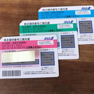 エーエヌエー(ゼンニッポンクウユ)(ANA(全日本空輸))のANA株主優待3枚(その他)
