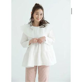 ビューティアンドユースユナイテッドアローズ(BEAUTY&YOUTH UNITED ARROWS)のmite sailor tierd blouse(シャツ/ブラウス(長袖/七分))