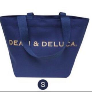DEAN & DELUCA - ラメ入りDEAN&DELUCA トートバッグ 紺色