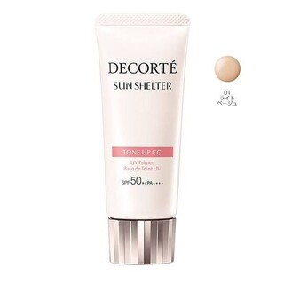 COSME DECORTE - 【新品】コスメデコルテ☆サンシェルター トーンアップ CC 01 ライトベージュ