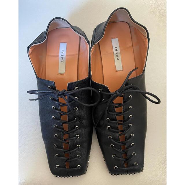 Ameri VINTAGE(アメリヴィンテージ)のAMERI LACE UP LOAFER レディースの靴/シューズ(ローファー/革靴)の商品写真