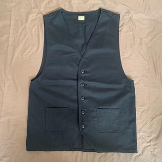 ネイバーフッド(NEIGHBORHOOD)のgutswrench ベスト ジレ メンズ work shirt ワーク シャツ(ベスト)