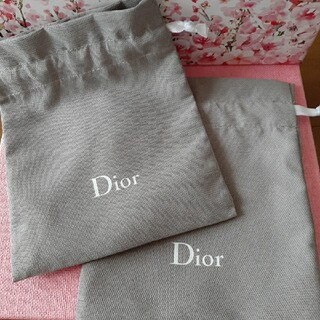 Dior - ディオールミニ巾着セット
