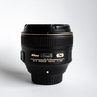 Nikon - ニコン NIKON AF-S NIKKOR 58mm f 1.4G 中古 完動品