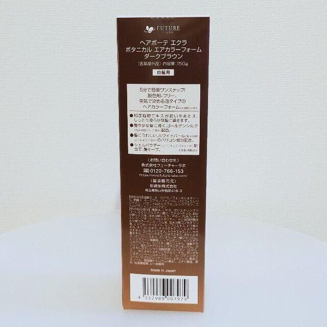 #938 エクラ ボタニカルエアカラーフォーム ダークブラウン150g コスメ/美容のヘアケア/スタイリング(白髪染め)の商品写真