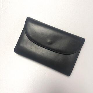 ホワイトハウスコックス(WHITEHOUSE COX)のWhite House Cox ブライドルレザー 3つ折り財布 ブラック(折り財布)