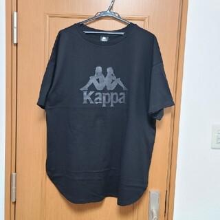 カッパ(Kappa)のGU × kappa チュニック と 村上隆×ビリーアイリッシュ ステッカー(Tシャツ(半袖/袖なし))