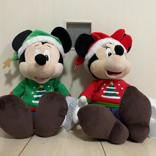 ディズニー(Disney)のDisneyStore限定ぬいぐるみMickey & Minnieセット(ぬいぐるみ)