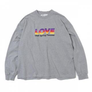 """UNUSED - Dairiku 21ss """"Love"""" ロンT"""
