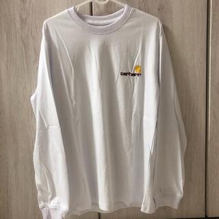 カーハート(carhartt)のカーハート ロゴ ロンT M 新品未使用(Tシャツ/カットソー(七分/長袖))