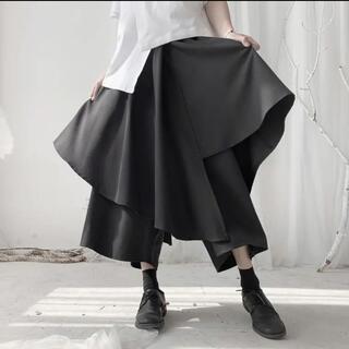 ゴシック 原宿 韓流 モード系 シャツロングスカート3way (衣装一式)