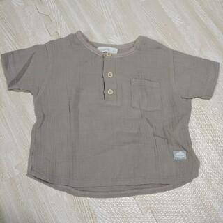 しまむら - しまむらベビーミモランドガーゼtシャツ60-70