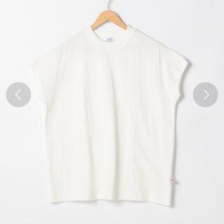 コーエン(coen)のcoen コーエン☆USAコットンハイネックTシャツ☆白(Tシャツ(半袖/袖なし))