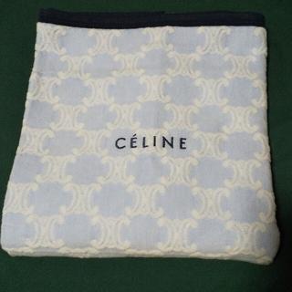 celine - 希少 セリーヌ  ひざ掛け ハーフケット ブランケット おくるみ 綿毛布