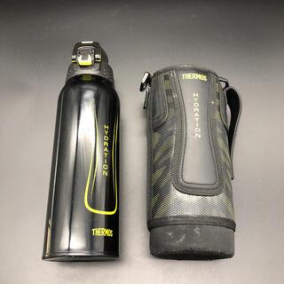 サーモス(THERMOS)の即決 THERMOS サーモス 真空断熱スポーツボトル 1.0L ポーチ付き(その他)