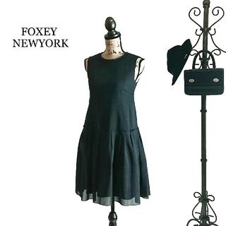 フォクシー(FOXEY)のFOXEY NEWYORK フォクシー ワンピース(ひざ丈ワンピース)