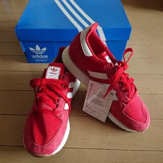 adidas - 新品!アディダス B41530 フォレストグローブ 24cm 赤 スエード