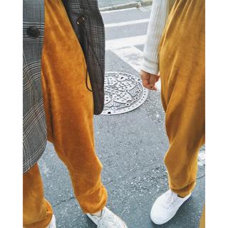 BEAUTY&YOUTH UNITED ARROWS - Baserange / velors pants