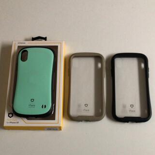 【お買得】iPhoneXR iface ケース 3個セット クリア アイフェイス