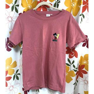 ディズニー(Disney)の未使用 新品 ミッキーTシャツ ピンク (Tシャツ(半袖/袖なし))
