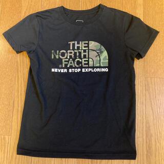 THE NORTH FACE - ノースフェイス キッズ Tシャツ 140   黒 ブラック