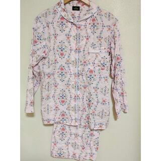 Wacoal - MINTON ミントン パジャマ 上下セット Mサイズ ピンク 花 レディース