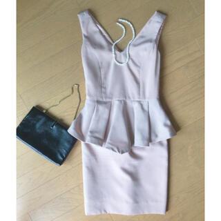 インポート ワンピース ドレス Mサイズ(ひざ丈ワンピース)